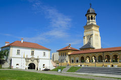 Bell tower in alba iulia Stock Image
