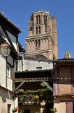 Bell tower of Albi in France Royalty Free Stock Photo