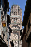 Bell tower of Albi in France Stock Image