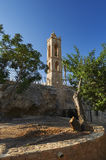 Bell tower of the ancient monastery in Ayia Napa Royalty Free Stock Photo