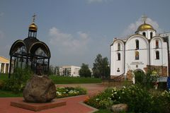 Bell Tower and the Annunciation Church. Vitebsk Royalty Free Stock Images