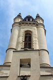 Bell tower of armenian Cathedral in Lviv, Ukraine royalty free stock image