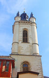 Bell tower of armenian Cathedral in Lviv, Ukraine Royalty Free Stock Photos