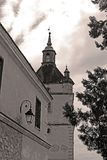 Bell Tower of the Armenian church in Kamianets-Podilskyi, Ukraine Stock Photo