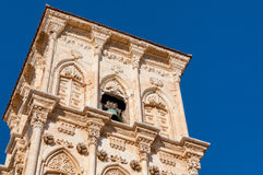 Bell tower of Ayious Lazarus Church, Larnaca, Cyprus Royalty Free Stock Images