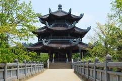 Vietnam - North - Bai Dinh Pagoda. Bell tower at Bái Đính Temple Vietnamese: Chùa Bái Đính or Bái Đính Temple Spiritual and royalty free stock photo