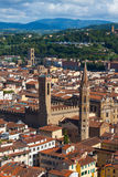 Bell Tower Badia Fiorentina - Florence Stock Photos