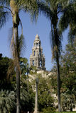 Bell Tower at Balboa Park Stock Photo
