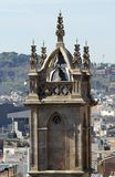Bell Tower on Barcelona Cathedral. Spain Royalty Free Stock Photography