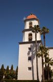 Bell Tower Basilica of San Juan Capistrano Royalty Free Stock Images