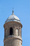 Bell tower of the basilica of San Vitale Royalty Free Stock Photo