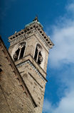 Bell Tower in Bergamo Stock Photography