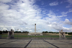 The Bell Tower of Berlin Olympiastadion royalty free stock photos
