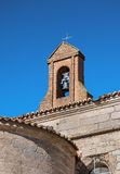 Bell tower on blue sky Royalty Free Stock Photo