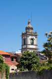 Bell tower in Braga Royalty Free Stock Images