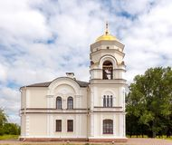 Bell Tower in the Brest Fortress. Belarus Stock Photography