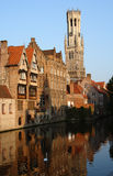 Bell Tower in Bruges Royalty Free Stock Photography