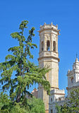 Bell tower in Burriana Royalty Free Stock Photography