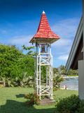 Bell tower in cap Malheureux royalty free stock photos