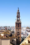 Bell tower of  Carmona Royalty Free Stock Images