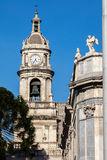 Bell tower of the Catania cathedral Royalty Free Stock Photography