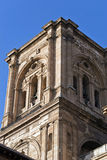 Bell tower of the cathedral. Of Granada Royalty Free Stock Photo