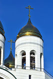 Bell tower of Cathedral of Christ the Savior. Kaliningrad, Russi Royalty Free Stock Image