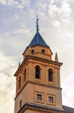 Bell tower of the Cathedral of Granada Stock Photos