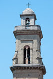 Bell tower cathedral Meta village Royalty Free Stock Photos