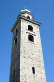 Bell Tower Cathedral of Saint Lawrence Royalty Free Stock Images