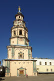 Bell tower. Cathedral of Saints Peter and Paul. Kazan, Tatarstan Stock Images
