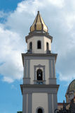 Bell tower cathedral Viso Equense Royalty Free Stock Image