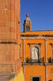 Bell-tower of Cathedral- Zacatecas, Mexico Royalty Free Stock Photo