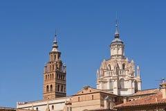 Bell tower of the Catheral of Tarazona, Zaragoza province, Arago. N, Spain Royalty Free Stock Photo