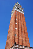 Bell tower in the center of venice Royalty Free Stock Photos