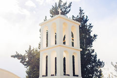 Bell tower of Christian Church Royalty Free Stock Photos