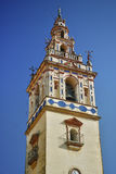 Bell tower in the church Royalty Free Stock Photography