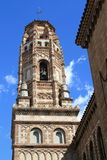 Bell tower of church Royalty Free Stock Images