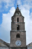 Bell tower of the church Stock Photos