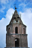 Bell tower of the church Royalty Free Stock Images