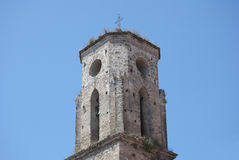 Bell tower of the church Stock Images