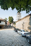 Bell tower of the church of Constantine and Helena in Plovdiv, Bulgaria Stock Photo