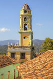 Bell tower of church in Cuba Stock Photography