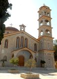 Bell tower of the church in Greece Stock Photography
