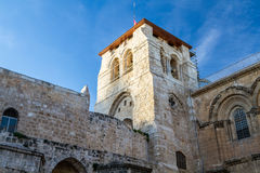 Bell tower, Church of the Holy Sepulchre Royalty Free Stock Photos