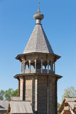 Bell tower. Of Church of the Intercession of the Holy Virgin Royalty Free Stock Photo