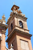 Bell Tower of the church is known as �The Congregation� in Valencia, Spain. Royalty Free Stock Image