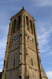 Bell tower of church Saint Nicolas of Maule Royalty Free Stock Photo