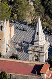 Bell tower of the church of San Giuseppe in Taormina Stock Photography