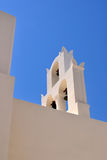 Bell tower of a church in Santorini Stock Photos